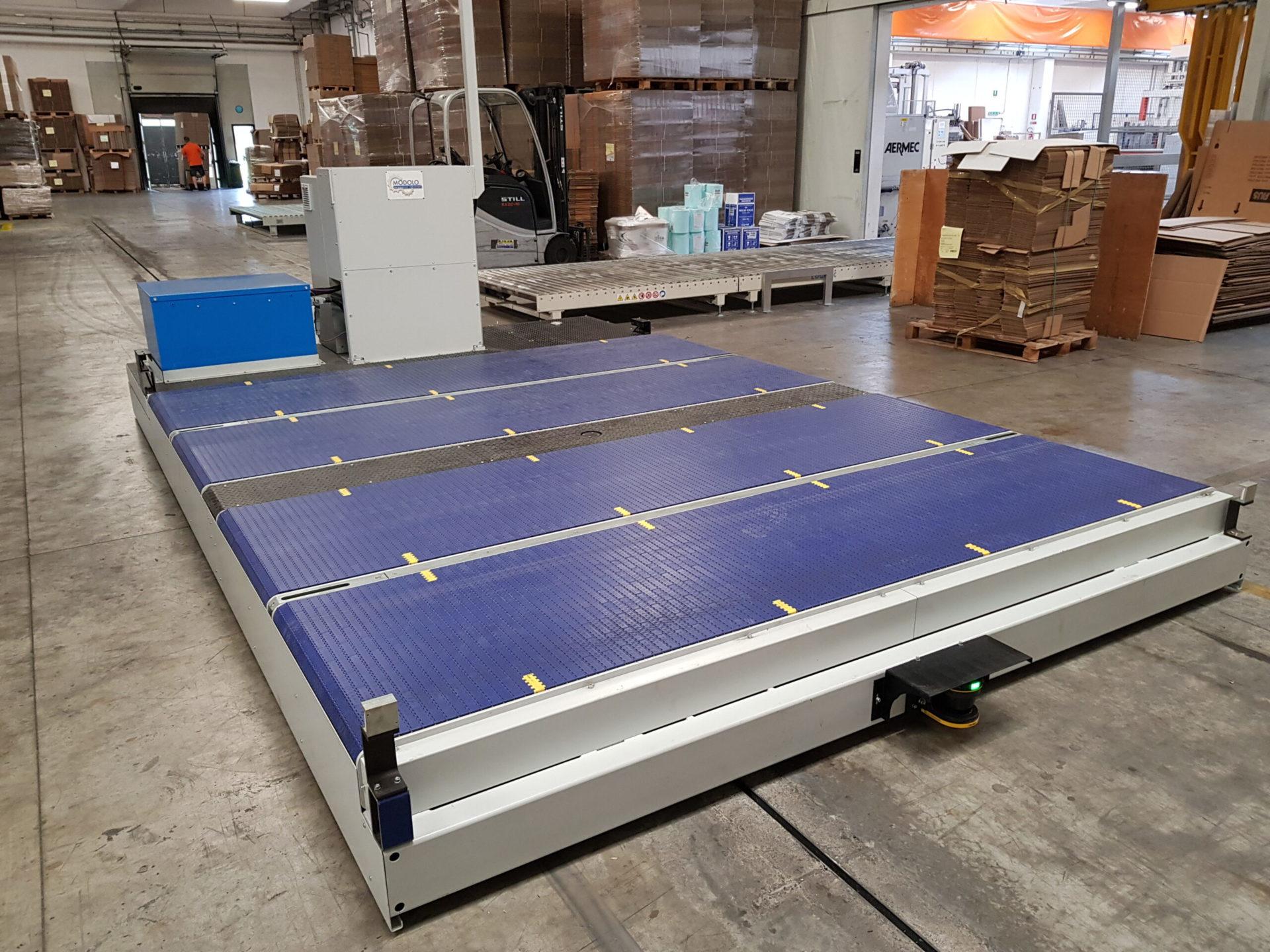 Batteria al litio per AGV