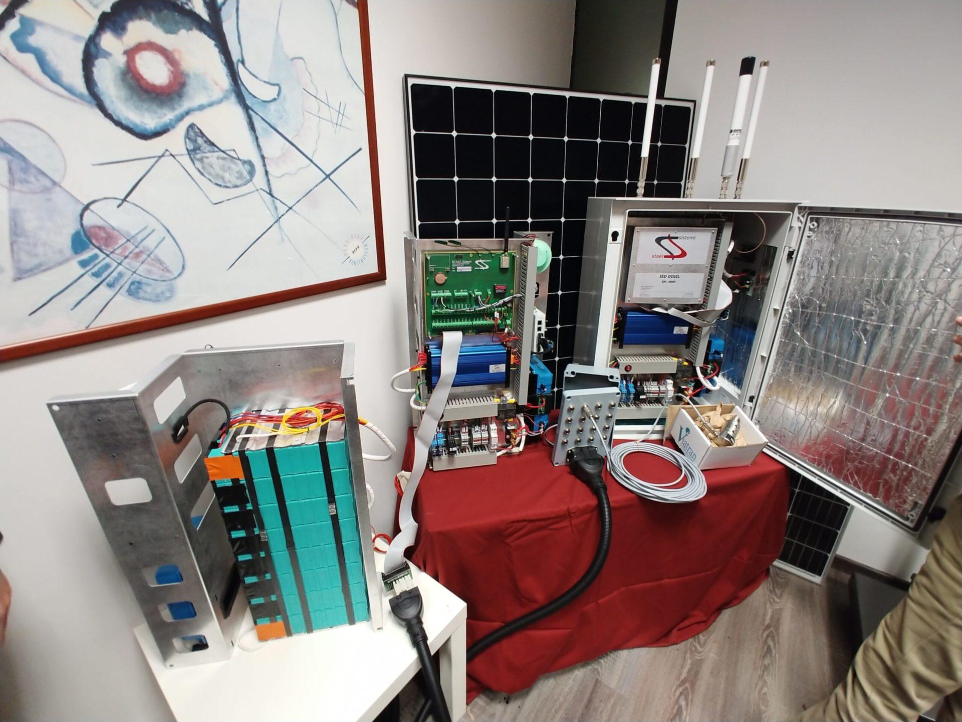 Batterie litio storage